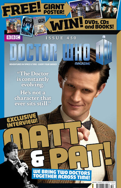 Doctor Who Magazine #450 - In factory sealed bag with FREE Poster
