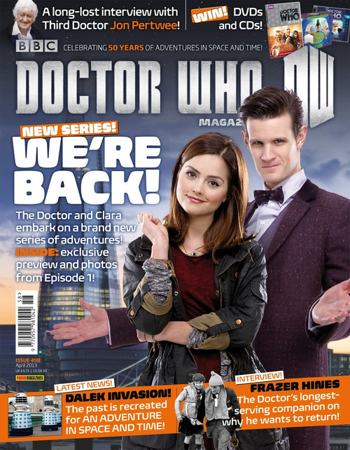 Doctor Who Magazine #458 - The Bells of St John