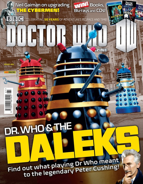 Doctor Who Magazine #461 - Dr Who & The Daleks Movies