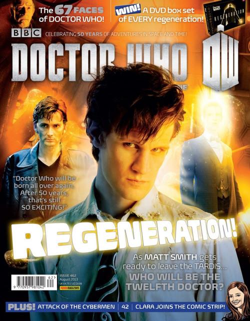 Doctor Who Magazine #462 - Regeneration