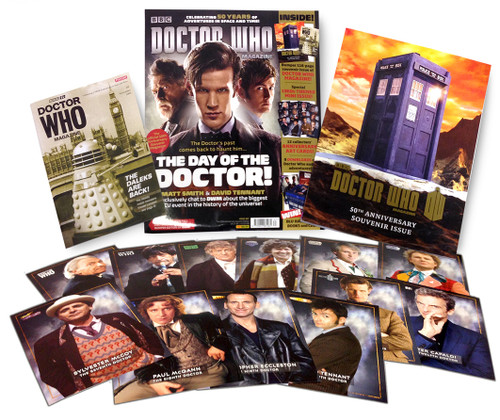 Doctor Who Magazine #467 - 50th Anniversary Special Edition - Limit ONE per Customer