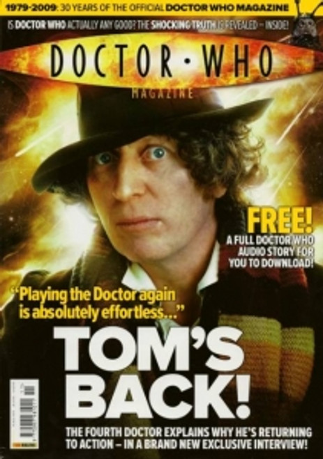 Doctor Who Magazine #411 - Tom Baker Interview on returning in Big Finish