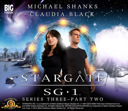 Stargate SG-1 Series 3: Part 2 Big Finish Audio CD Boxed Set - Audio Drama Starring Michael Shanks and Claudia Black