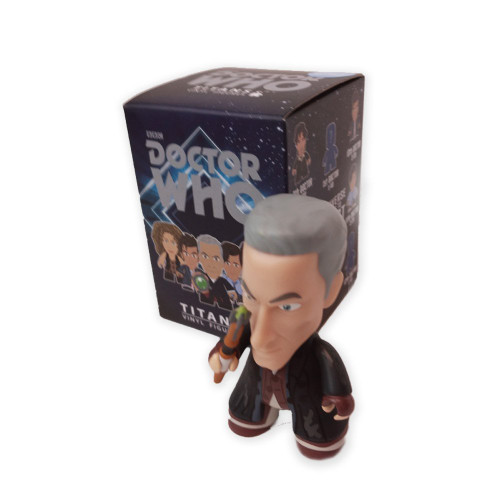 "Exclusive 3"" Titan Vinyl ""Homeless"" 12th Doctor figure"