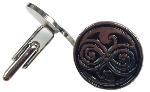 Doctor Who Cufflinks - SEAL OF GALLIFREY (RASSILON)