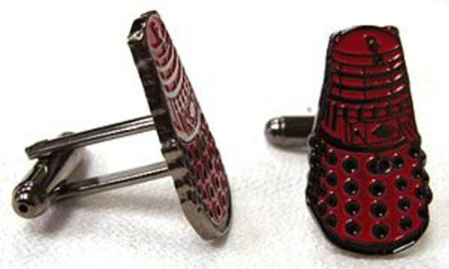 Doctor Who Cufflinks - RED DALEK