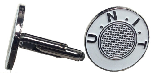 Doctor Who Cufflinks - U.N.I.T.