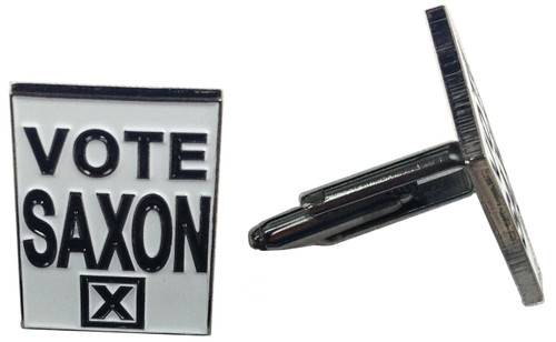 Doctor Who Cufflinks - VOTE SAXON