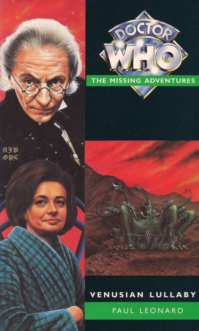 Doctor Who Missing Adventures Paperback Book - VENUSIAN LULLABY by Paul Leonard