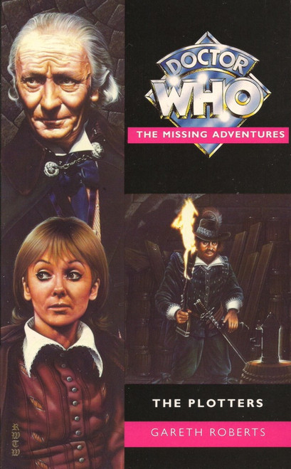 Doctor Who Missing Adventures Paperback Book - THE PLOTTERS by Gareth Roberts