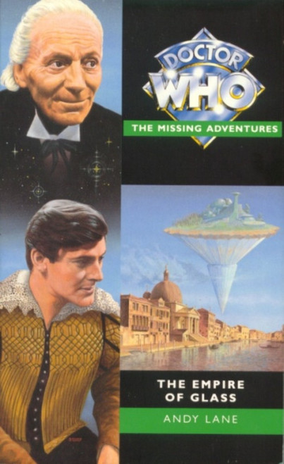 Doctor Who Missing Adventures Paperback Book - THE EMPIRE OF GLASS by Andy Lane