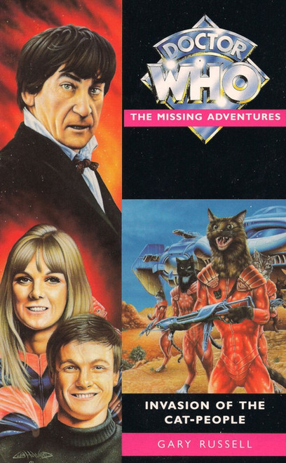 Doctor Who Missing Adventures Paperback Book - INVASION OF THE CAT PEOPLE by Gary Russell