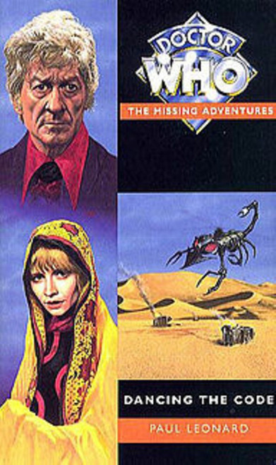 Doctor Who Missing Adventures Paperback Book - DANCING THE CODE by Paul Leonard