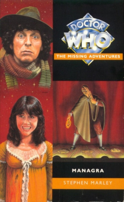 Doctor Who Missing Adventures Paperback Book - MANAGRA by Stephen Marley