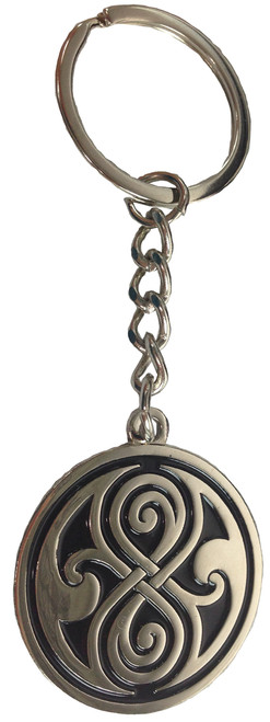 Doctor Who: Seal of Gallifrey (Rassilon) - UK Imported Metal Keyring Keychain