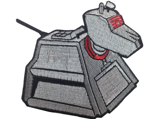 Doctor Who: K9 Iron On Patch