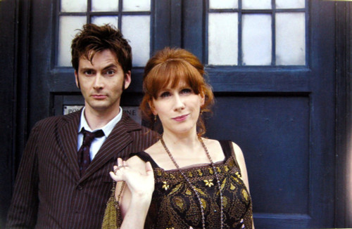 Doctor Who: 17 x 11 Inch Print - 10th Doctor (David Tennant) with Donna Noble (Catherine Tate)