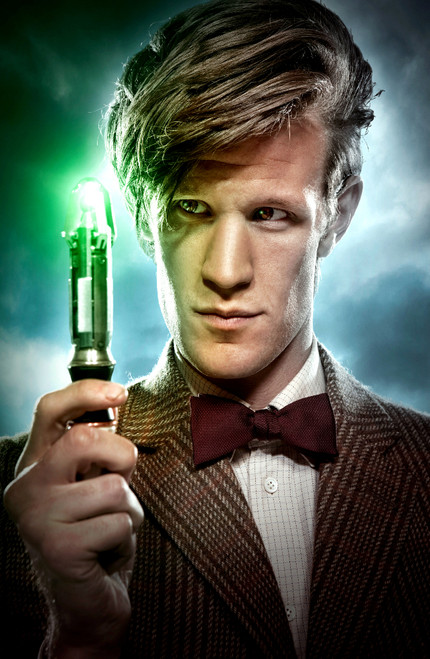 11th Doctor and his Sonic Screwdriver Print