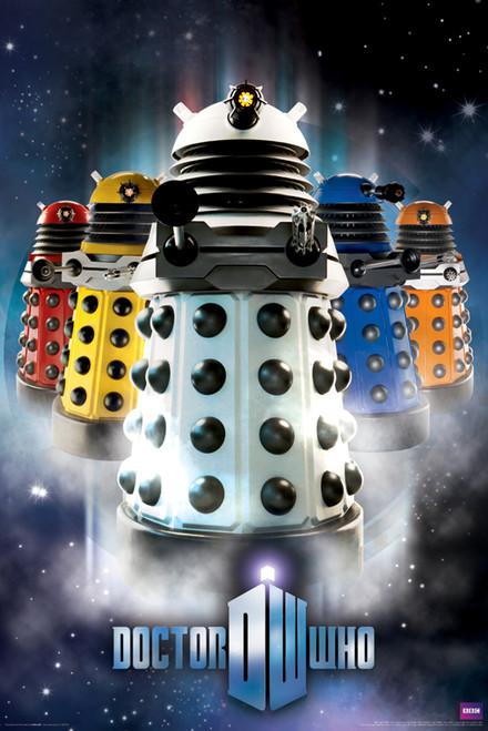 "Doctor Who: NEW PARDIGM DALEKS Poster - 24"" X 36"""