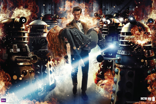 """Doctor Who: ASYLUM OF THE DALEKS Poster - 36"""" x 24"""