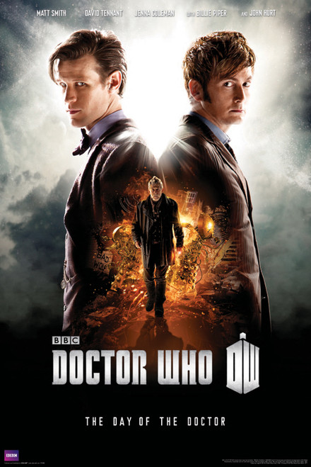 "Doctor Who: DAY OF THE DOCTOR Promotional Poster - 24"" x 36"""