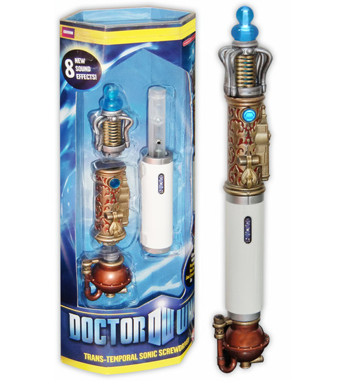 Doctor Who: Trans-Temporal Sonic Screwdriver (Non-Mint Packaging)