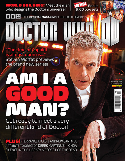 Doctor Who Magazine #476 - 12th Doctor - Am I a good man?