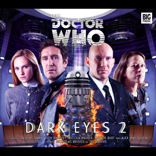 Doctor Who DARK EYES #2 Eighth Doctor (Paul McGann) Audio Drama Boxed Set  from Big Finish