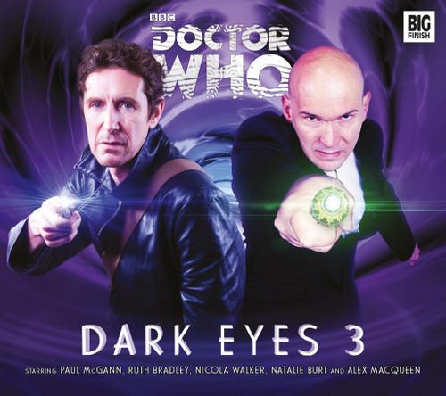 Doctor Who DARK EYES Eighth Doctor (Paul McGann) Audio Drama Boxed Set #3 from Big Finish
