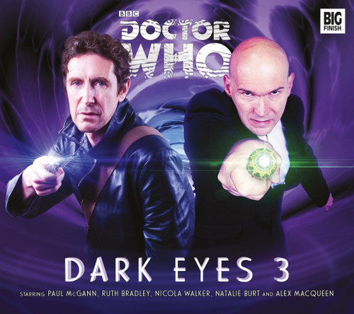 Doctor Who DARK EYES #3 Eighth Doctor (Paul McGann) Audio Drama Boxed Set from Big Finish