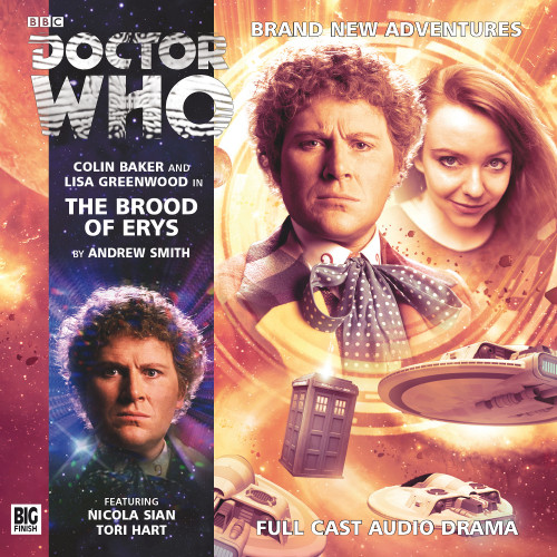 Doctor Who: BROOD OF ERYS - Big Finish 6th Doctor Audio CD #183