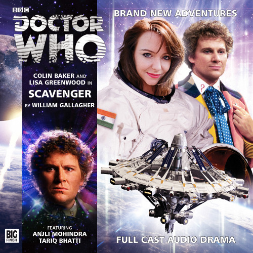 Doctor Who: SCAVENGER - Big Finish 6th Doctor Audio CD #184