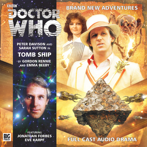 Doctor Who: TOMB SHIP - Big Finish 5th Doctor Audio CD #186