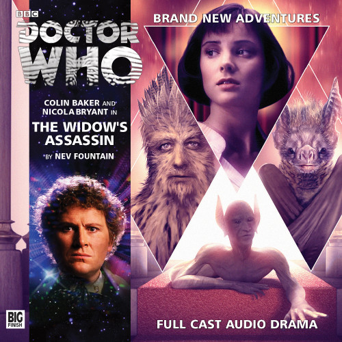 Doctor Who: THE WIDOW'S ASSASSIN - Big Finish 6th Doctor Audio CD #192