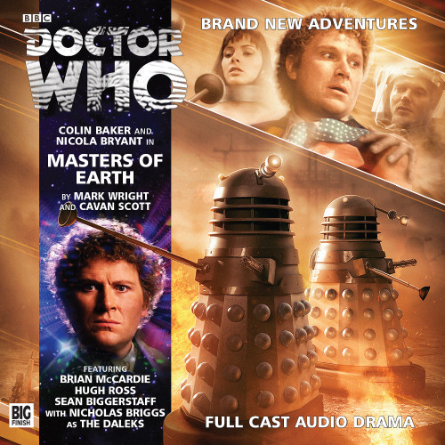 Doctor Who: MASTERS OF EARTH - Big Finish 6th Doctor Audio CD #193