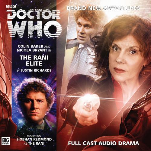 Doctor Who: RANI ELITE - Big Finish 6th Doctor Audio CD #194