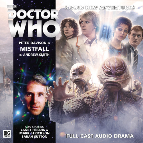 Doctor Who: MISTFALL - Big Finish 5th Doctor Audio CD #195