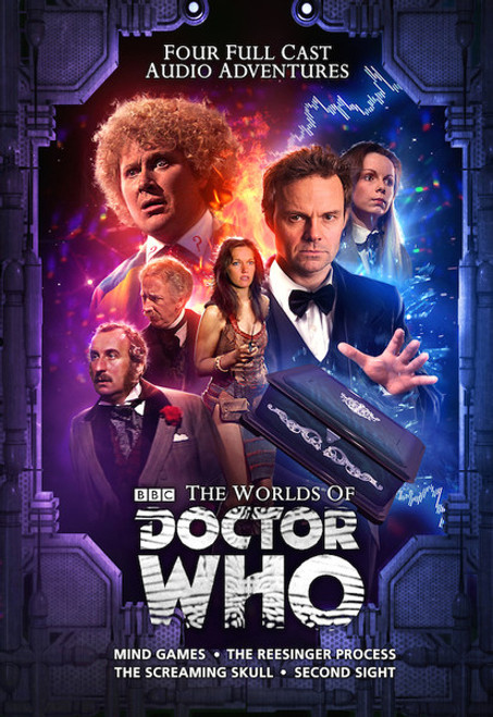 WORLDS OF DOCTOR WHO: Limited Collector's Edition Box Set of 4 New Stories from Big Finish