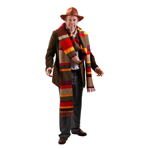 Doctor Who: Fourth Doctor (Tom Baker) Premium 17 Foot Scarf by Elope (Limited Stock)