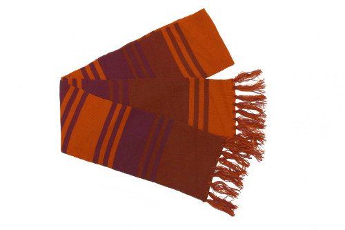 Doctor Who: Fourth Doctor (Tom Baker) 6' Purple Season 18 Style Scarf
