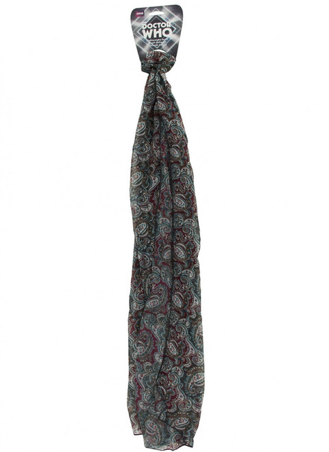 Doctor Who: 7th Doctor (Sylvester McCoy) Paisley Costume Scarf