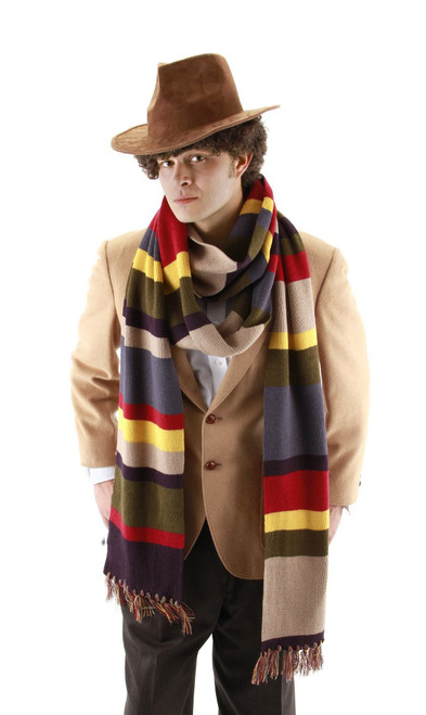 "Doctor Who: 4th Doctor (Tom Baker) 12"" Scarf by Elope"