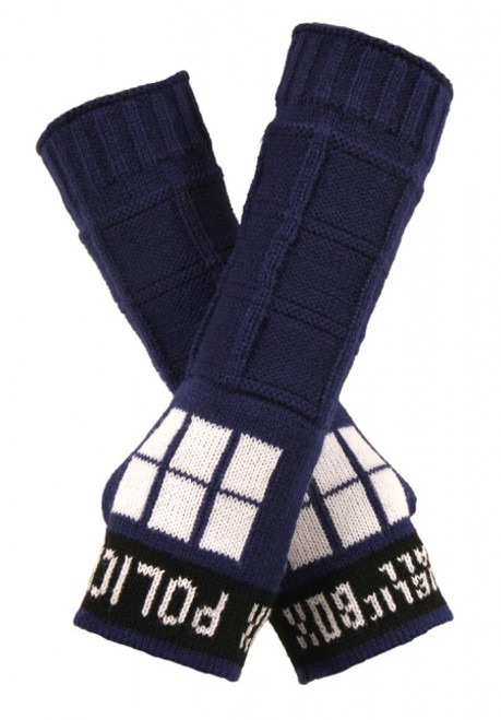 Doctor Who: TARDIS Arm Warmers