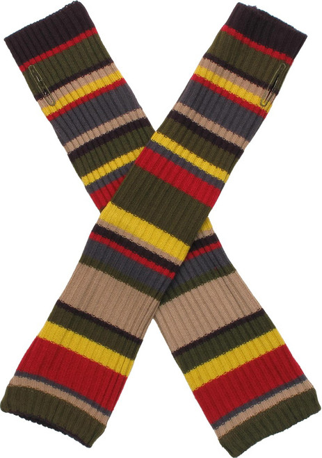 Doctor Who: 4th Doctor (Tom Baker) - Scarf Style Long Arm Warmers