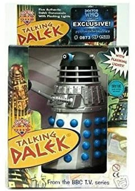 "Doctor Who Exclusive Talking Dalek from ""Evil of the Daleks"" - Limited Edition of 1500 from Product Enterprise"