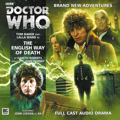 Doctor Who Novel Adaptation: The ENGLISH WAY OF DEATH - Big Finish Audio CD #4