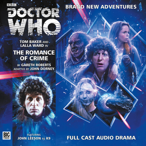 Doctor Who Novel Adaptation: The ROMANCE OF CRIME  - Big Finish Audio CD #3