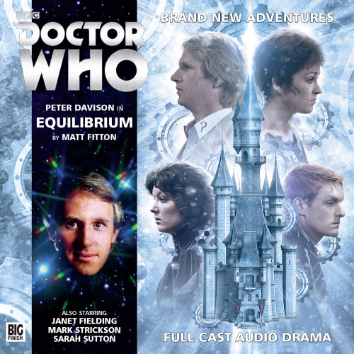 Doctor Who: EQUILIBRIUM - Big Finish 5th Doctor Audio CD #196