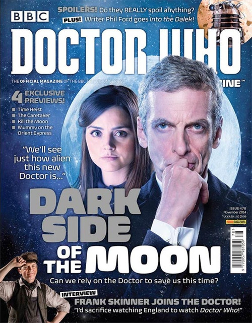 Doctor Who Magazine #478 - Dark Side of the Moon