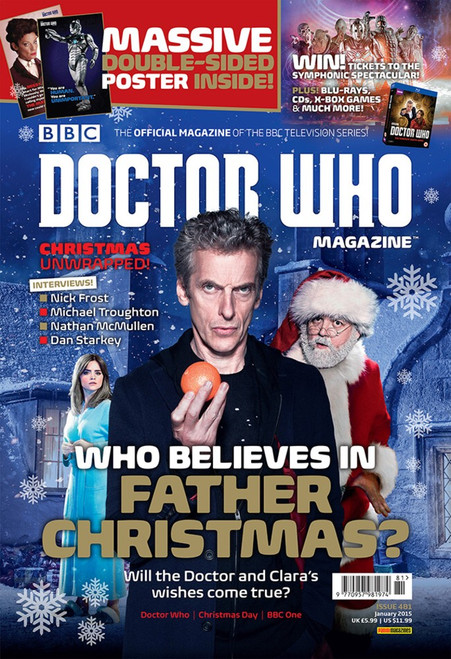 Doctor Who Last Christmas.Doctor Who Magazine 481 Last Christmas Issue